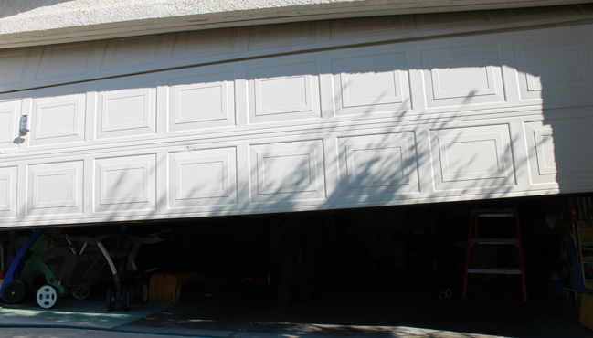 how to fix garage door cable